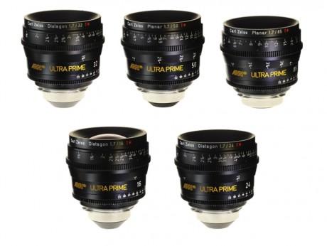 ARRI / Zeiss Ultra Prime Lenses