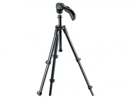 Manfrotto MKC3-H01 Compact Series Photographic Tripod