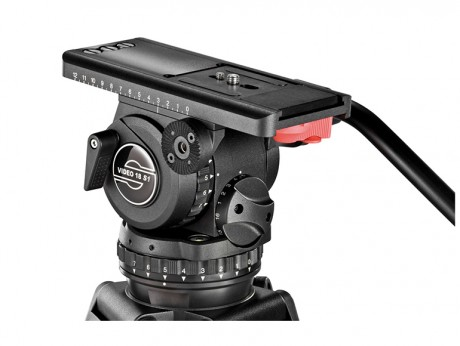 Sachtler Video 18 P Fluid Head Tripod System