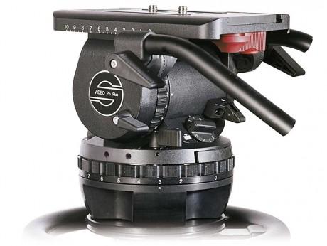 Sachtler Video 25 Plus Fluid Head Tripod System