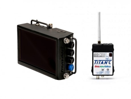 "6.5"" Transvideo RX Monitor and Titan TX unit"
