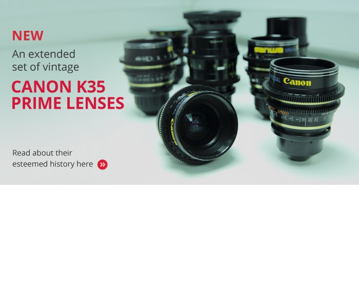 Canon K35 Prime Lenses