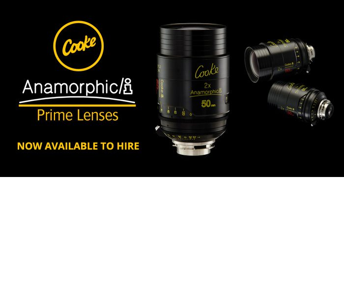 Cooke Anamorphic Prime Lenses