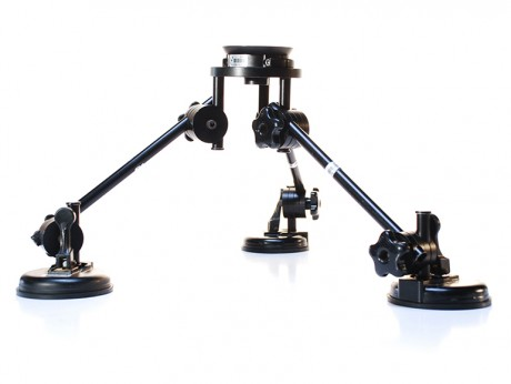 MICRODOLLY HOLLYWOOD 3 Cup Suction Mount