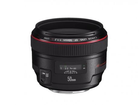 Canon EF 50mm f/1.2L USM Prime