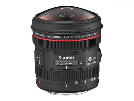 Canon EF 8-15mm f/4L Fisheye USM Zoom