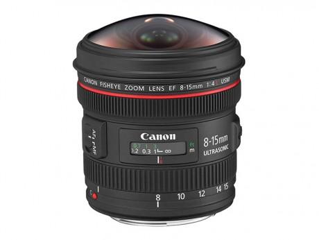 Canon EF 8-15mm f/4L Fisheye USM Zoom