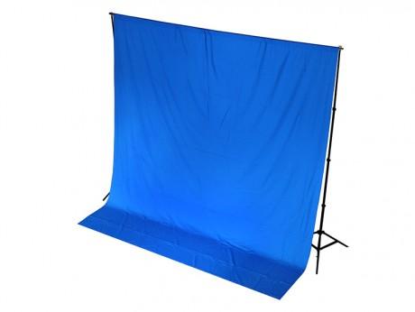 Chroma Blue Drape