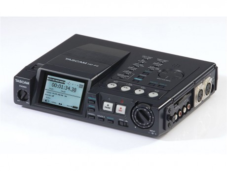 TASCAM HD-P2 Portable Stereo Audio Recorder