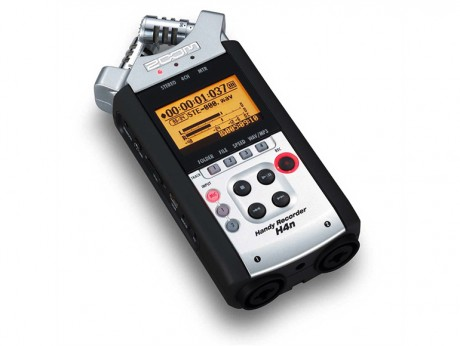 Zoom H4N Handheld Digital Audio Recorder