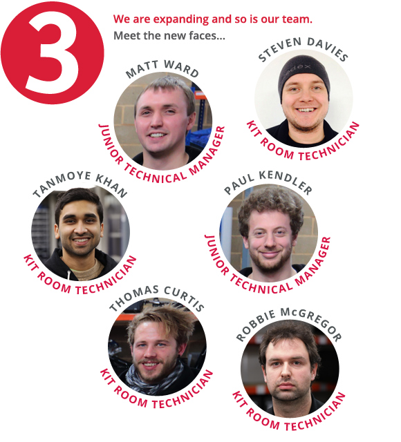 We are expanding and so is our team. Meet the new faces... Matt Ward, Tanmoye Khan, Thomas Curtis, Steven Davies, Paul Kendler and Robbie McGregor.