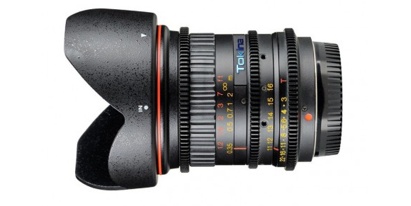 Tokina EF 11-16mm Cine T3 Zoom Lens