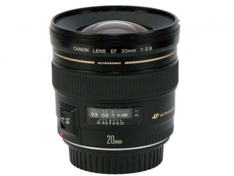 Canon EF 20mm f/2.8L USM Prime Lens
