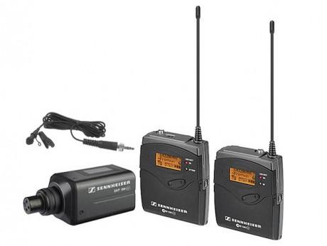 Sennheiser G3 Wireless Boom Mic Transmitter and Sennheiser EVO G3 Body Pack Receiver
