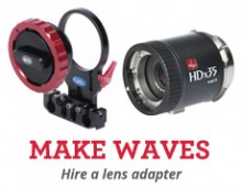 Make Waves – Hire a lens adapter