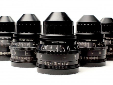 Extended Set Of Zeiss Super Speed Mark III Prime Lenses