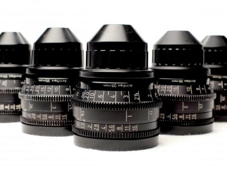 Extended Set Of Zeiss Super Speed Mark III Prime Lenses