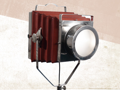 Photographic Camera Style Light