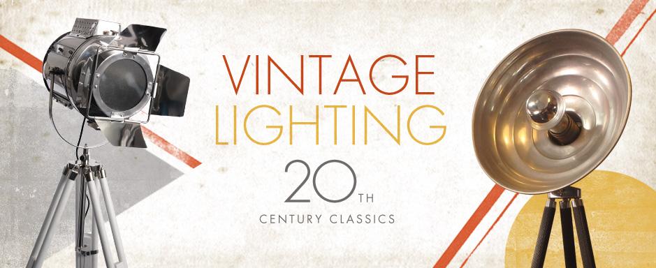 VINTAGE LIGHTING - 20TH CENTURY CLASSICS