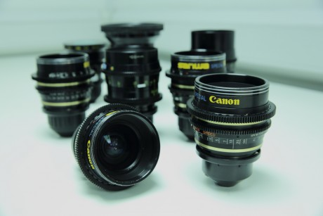 Extended Set Of Canon K35 Prime Lenses