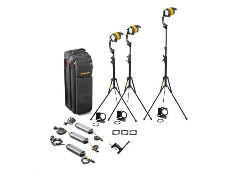 Dedolight 3 Head LED Bi-colour Kit
