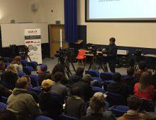 Shift 4 Academy visits Bournemouth University