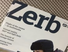 Shift 4's vintage lights star in Zerb magazine