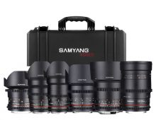 Samyang Optics VDSLR Prime Lenses