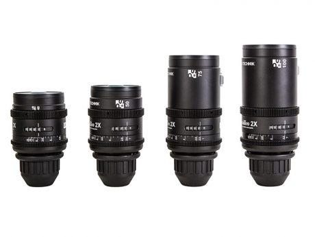 P+S TECHNIK 2x Anamorphic Evolution Lenses