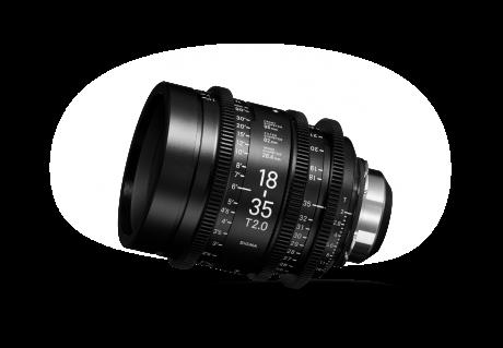 SIGMA 18-35mm PL T2 Zoom Lens