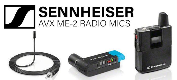 Sennheiser AVX Radio Mics