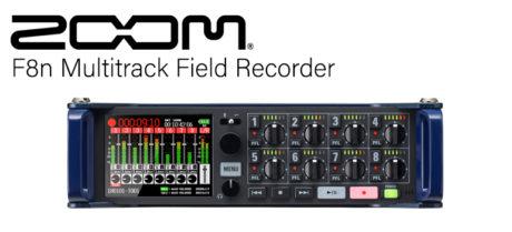 Zoom F8n Multitrack Field Recorder