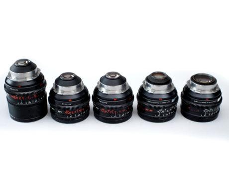 Extended Set Of Zeiss Super Speed Mark II Prime Lenses
