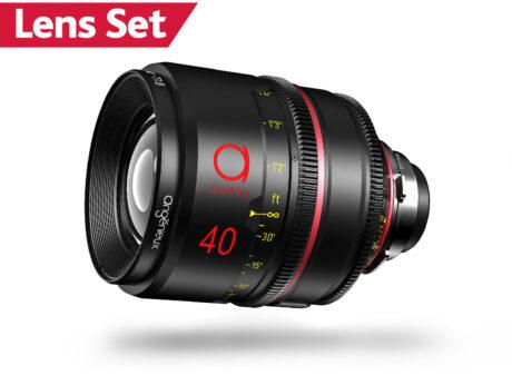 Angenieux Optimo Primes – Lens Set